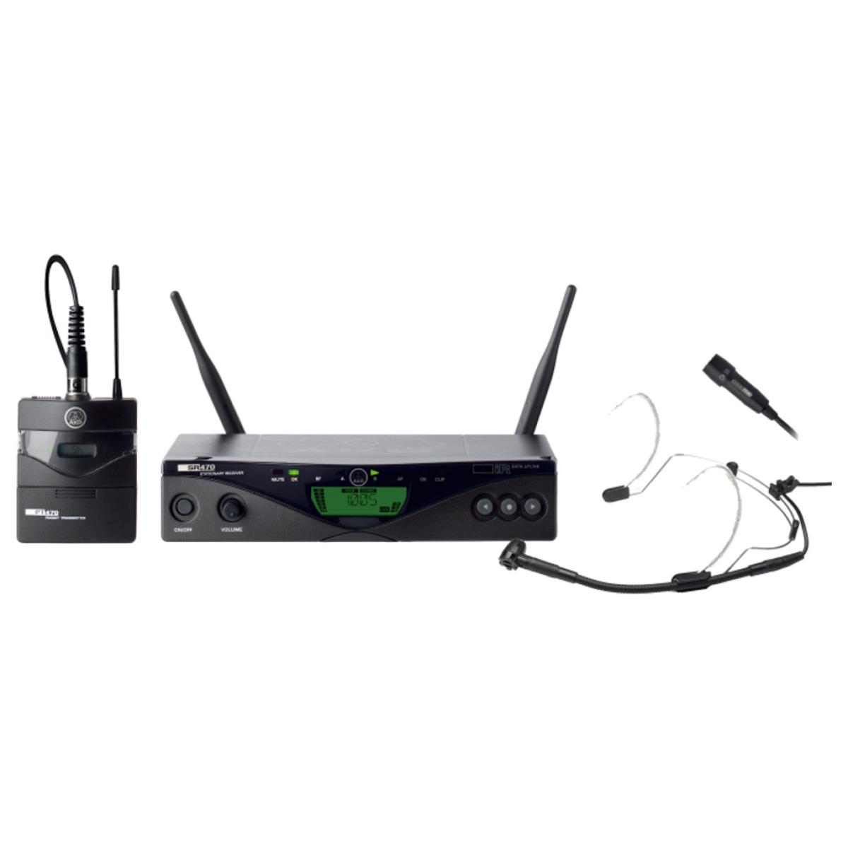 WMS470 Presenter Set (Band 8-50mW) 570-600MHz