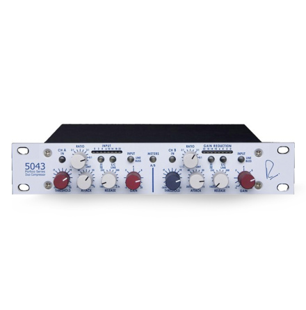 5043 2-Channel Compressor / Limiter