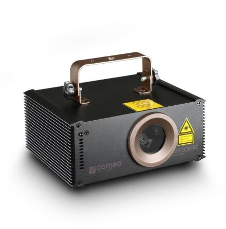 WOOKIE 200 RGY - Animation Laser 200 mW RGY