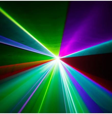 WOOKIE 400 RGB - Animation Laser 400 mW RGB