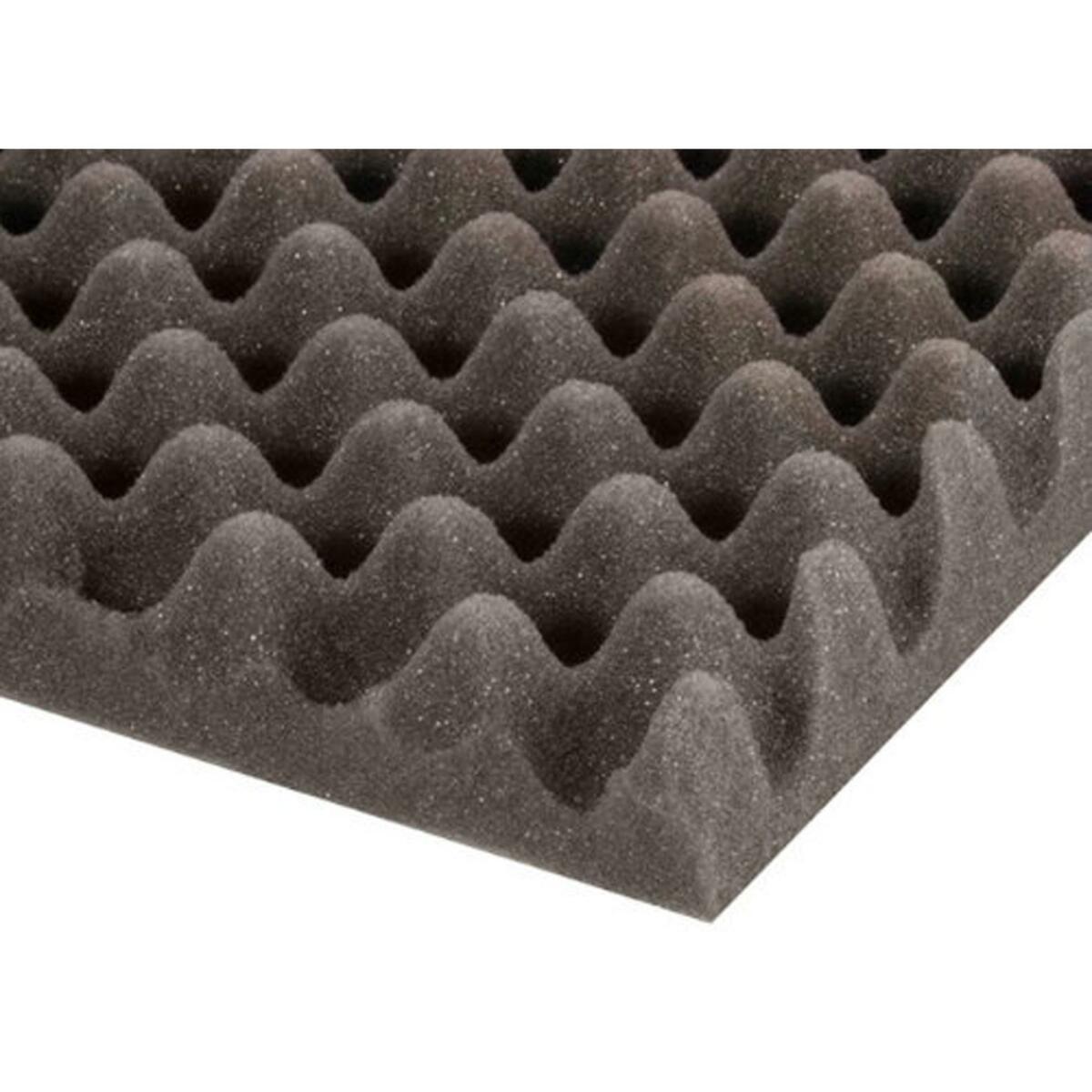 Eggbox Foam Grey 50 mm