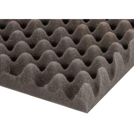 Eggbox Foam Grey 30 mm