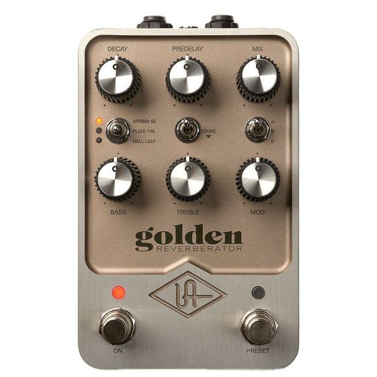 Golden Reverb Pedal