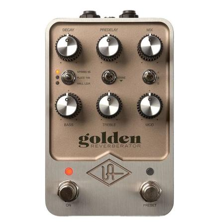 Golden Reverb Pedal